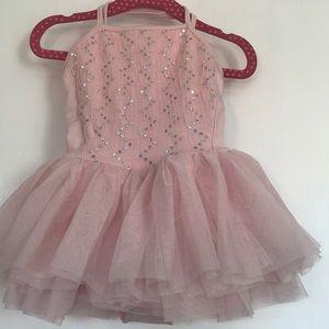 Pink Sparkle Ballerina Dress
